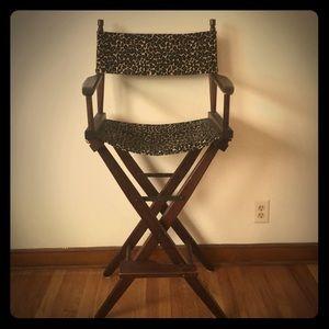 Accessories - Cheetah Print Directors Chair
